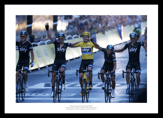 Chris-Froome-amp-Team-Sky-2013-Tour-de-France-Cycling-Photo-Memorabilia-134