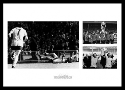 Arsenal FC 1971 FA Cup Final Framed Photo Memorabilia