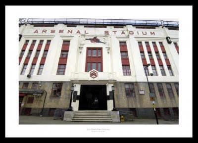 Highbury Stadium East Stand Arsenal FC Photo Memorabilia