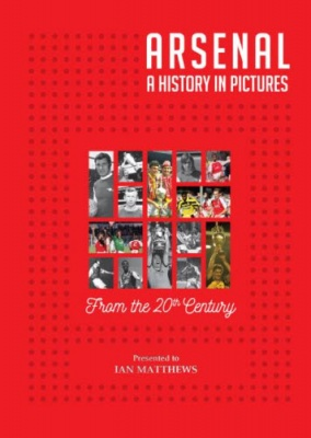 Arsenal - A History in Pictures Personalised Book