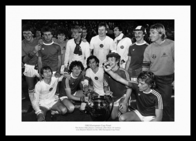 Aston Villa 1982 European Cup Team Photo Memorabilia