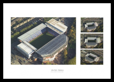 Villa Park Aerial Views - Aston Villa Stadium Photos