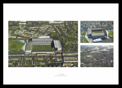 Turf Moor Aerial Views - Burnley FC Stadium Photos