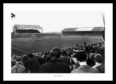 Ninian Park View from the Bob Bank 1970 Cardiff City Photo