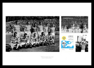Celtic FC Memorabilia - 1967 European Cup Final Photo Montage