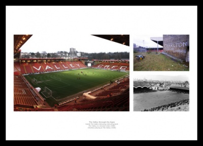 Charlton Athletic Memorabilia - The Valley through the Ages Print