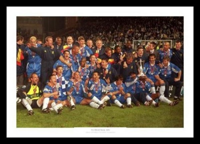 Chelsea 1998 European Cup Winners Cup Final Team Photo Memorabilia