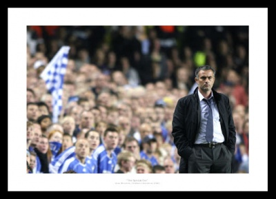 Jose Mourinho Chelsea v Barcelona Photo Memorabilia