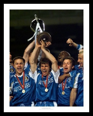 Chelsea v Stuttgart 1998 European Cup Winners Cup Photo Memorabilia