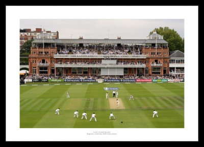 Lord's Cricket Ground Photo - 2013 England v Australia Ashes Series