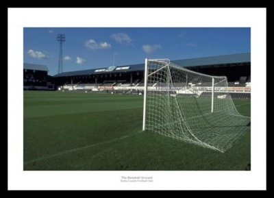 The Baseball Ground -  Derby County Old Stadium Photo Memorabilia