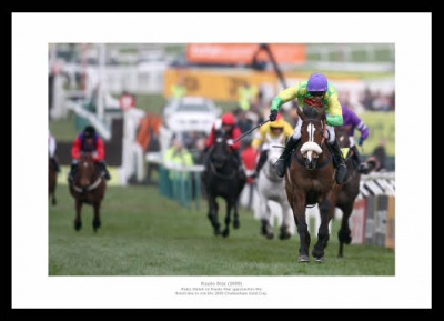 Kauto Star 2009 Cheltenham Gold Cup Photo Memorabilia