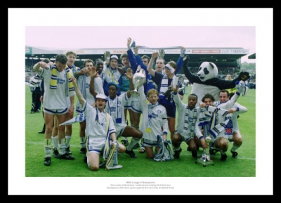Leeds United 1992 League Division One Champions Photo Memorabilia