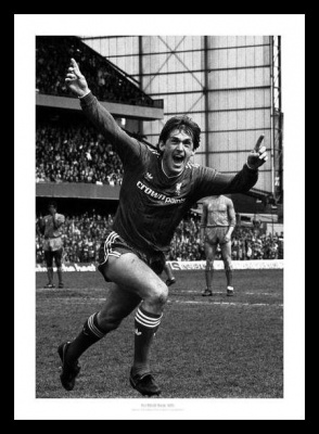 Kenny Dalglish Liverpool FC 1986 League Champions Photo Memorabilia