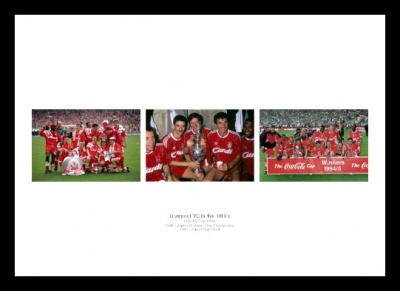 Liverpool FC in the 1990s Print Memorabilia