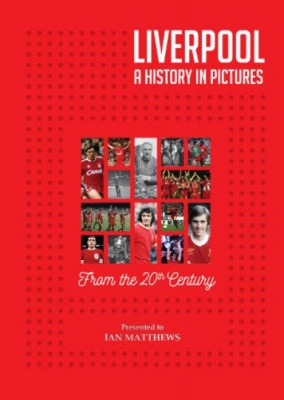 Liverpool FC - A History in Pictures Personalised Book