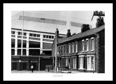 Outside Anfield Stadium 1980 Liverpool FC Photo