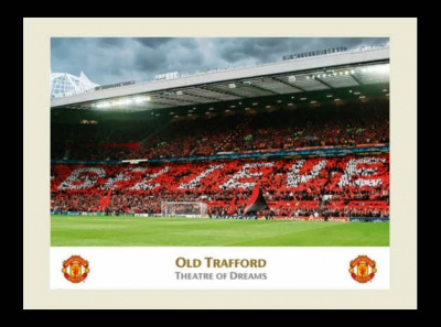 Old Trafford 'Theatre of Dreams' Framed Photo
