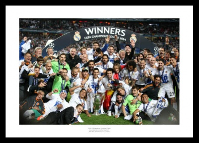 Real Madrid Memorabilia -  2014 Champions League Final Team Photo