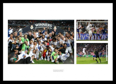 Real Madrid Memorabilia - 2014 Champions League Final Print
