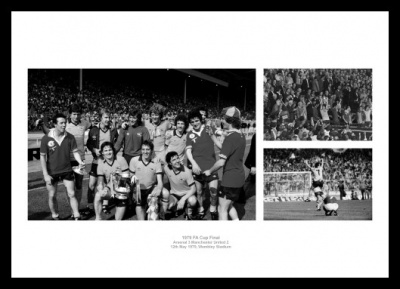 Arsenal 1979 FA Cup Final Photo Montage Memorabilia