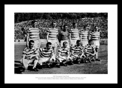 Lisbon Lions Memorabilia - Celtic 1967 European Cup Final Photo