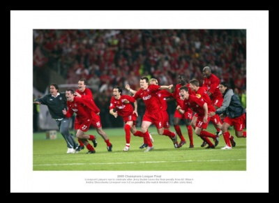 Liverpool 2005 Champions League Final Winning Penalty Photo