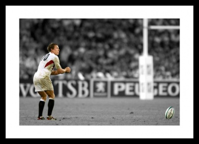 Jonny Wilkinson Photo - 2003 Rugby World Cup Spot Colour Print