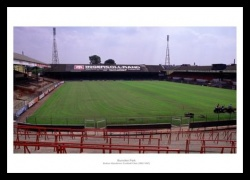 Burnden Park  - Bolton Wanderers Old Stadium Photo Memorabilia