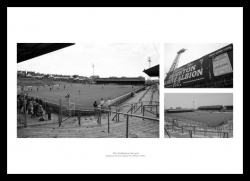 Brighton & Hove Albion Memorabilia - The Goldstone Ground Print