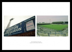 Brighton FC Memorabilia Goldstone Ground Print