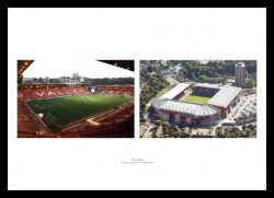The Valley  - Inside the Stadium & Aerial View Photo Memorabilia