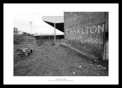 Charlton Athletic Derelict Valley 1988 Historic Stadium Photo