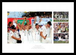 Ashes 2005 Memorabilia - England Cricket Team Photo Montgage