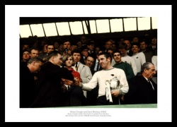 Derby County Brian Clough & Dave Mackay 1969 Photo Memorabilia