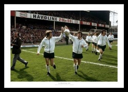 Derby 1975 League Champions Team Celebrations Photo Memorabilia
