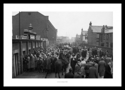 Fulham FC Memorabilia - Craven Cottage Stadium 1958 Historic Photo