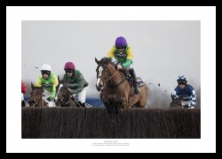 Kauto Star Photo - 2011 King George VI Horse Racing Print Memorabilia