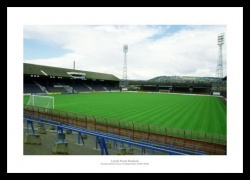 Huddersfield Town Memorabilia - Leeds Road Stadium Historic Photo