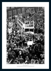 Ipswich Town 1978 FA Cup Final Open Top Bus Photo Memorabilia