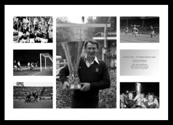 Ipswich Town Memorabilia - The Bobby Robson Years Print Montage