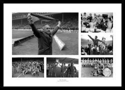 Framed Bill Shankly - The Liverpool FC Years Photo Memorabilia