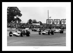 Silverstone Memorabilia -  1969 British Grand Prix Photo