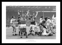 Leeds Rugby League Memorabilia - 1978 Challenge Cup Final Photo