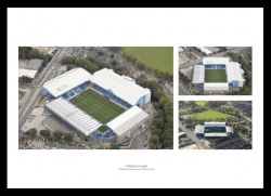 Hillsborough Aerial Views - Sheffield Wednesday Stadium Photos