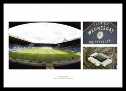 Hillsborough Football Stadium Sheffield Wednesday Print Memorabilia
