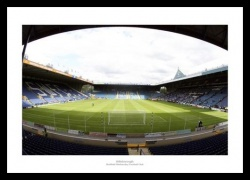Hillsborough Stadium View from Behind the Goal Photo Memorabilia