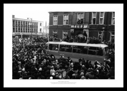 Swindon Town 1969 League Cup Final Celebrations Photo Memorabilia