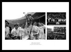 Swindon Town Memorabilia - 1969 League Cup Final Print Montage