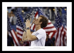 Andy Murray Photo - Winning First Major at 2012 US Open Final